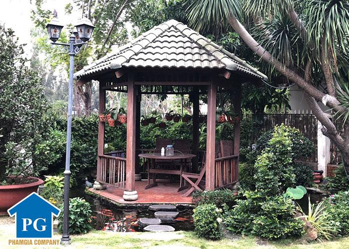 Tại Sao Nên Thiết Kế Nhà Chòi Sân Vườn Trong Các Khuôn Viên Hiện Nay